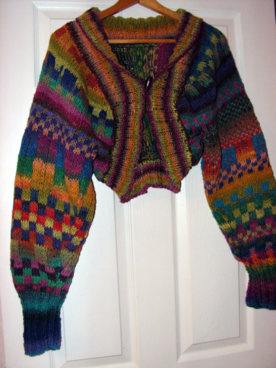 Noro Shrug Front