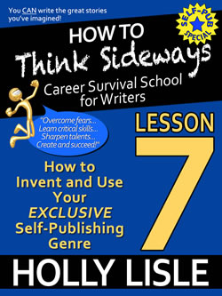 Lesson 7 (and a peek at the HTTS Kindle Cover Art)