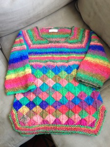DragonScale Sweater Full Front