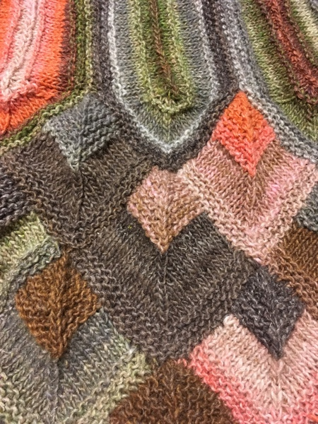 Close up. Still not blocked, but pretty.
