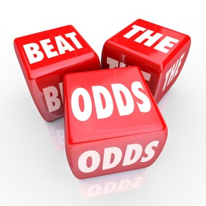 Yes, you CAN beat the odds.  You already did.