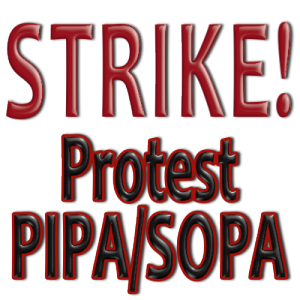Join the PIPA/SOPA Strike Tomorrow
